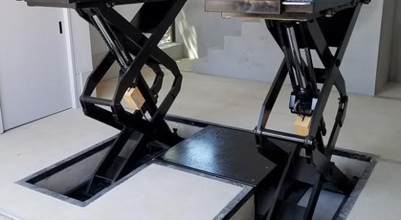 岡山県 K様邸  ビシャモン製 トータスリフト納品設置