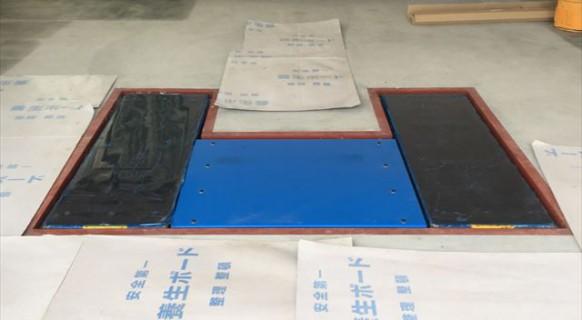 埼玉県 新築ビルトインガレージ ビシャモン製 トータスリフト納品設置