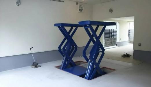 兵庫県 K様邸 アルティア製 EPリフト納品設置
