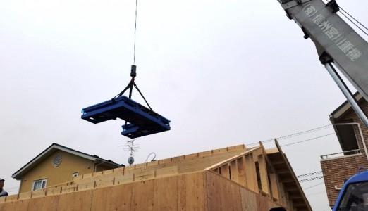 長野県 H様邸 ビシャモン製 トータスリフト納品設置
