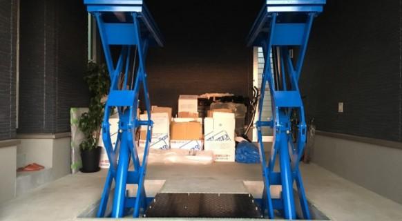 栃木県 新築K様邸 ビシャモン製トータスリフト納品設置