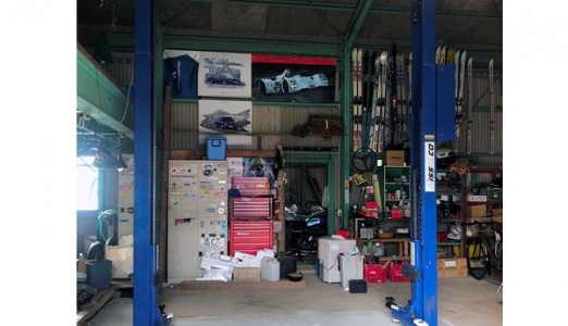 三重県 S様邸 ビシャモン製 門型2柱リフト納品設置