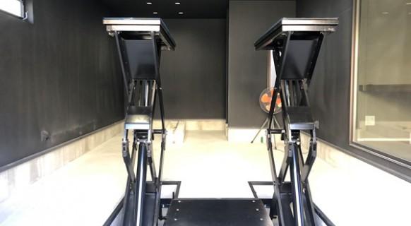 群馬県 R様邸 ビシャモン製 トータスリフト納品設置